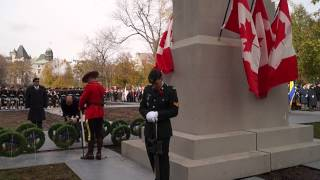 Remembrance Day 2013 Ceremonies At McGill University Campus Montreal 33