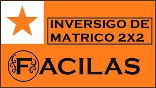 INVERSIGO DE MATRICO 2X2 (ESPERANTO)