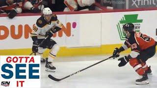 GOTTA SEE IT: David Pastrnak Scores 12 Seconds Into Game vs. Flyers