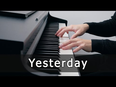 Yesterday - The Beatles (Piano Cover by Riyandi Kusuma)