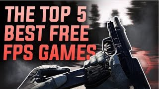 TOP 5 BEST NEW FREE FPS GAMES ON STEAM 2017!~Must Have F2P PC Games✔