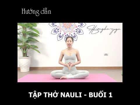 Hướng dẫn thở Nauli - giai đoạn 1: rút bụng