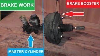 Master Cylinder and Brake Booster Replacement with Basic Hand Tools