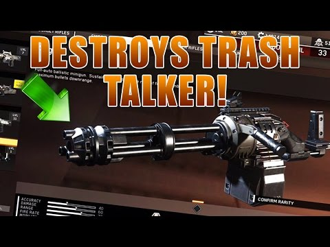 """NEW """"OVERPOWERED"""" AUGER MAKES TRASH TALKER RAGE AND CALLS ME A HACKER IN INFINITE WARFARE!"""