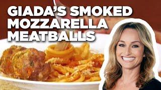 How to Make Giada's Smoked Mozzarella Meatballs | Food Network