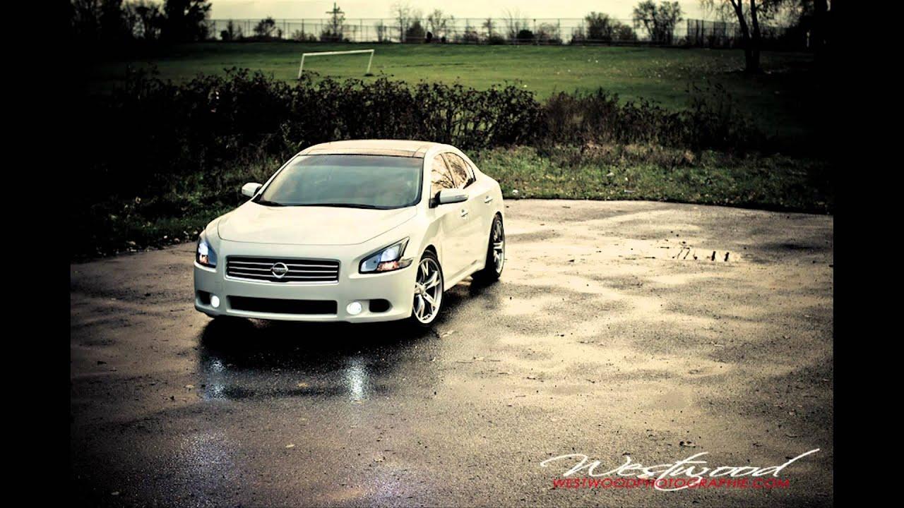 2011 7th Gen Nissan Maxima Sv Custom Headlights Black And