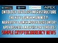 Ontology Development, TheKey Launch Main Net !! Narrative Moderator Center & APEX Vehicle Analysis !