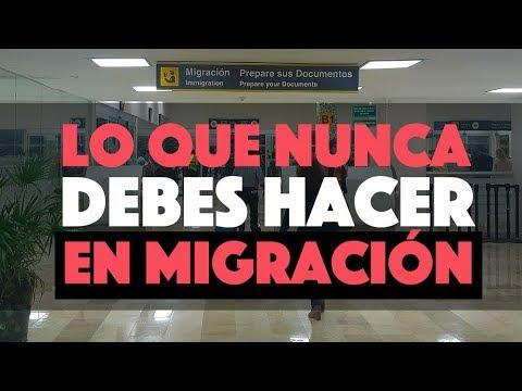 5 Cosas Que Nunca Debes Hacer En Migración