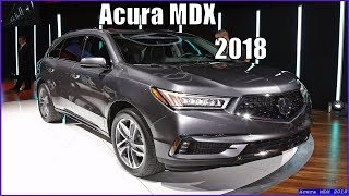 Acura MDX 2018 Redesign Review
