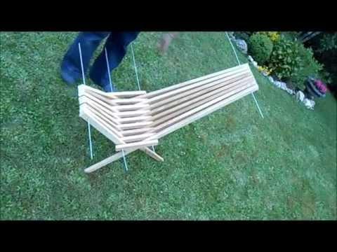 fabriquer une chaise pliante avec des tasseaux.