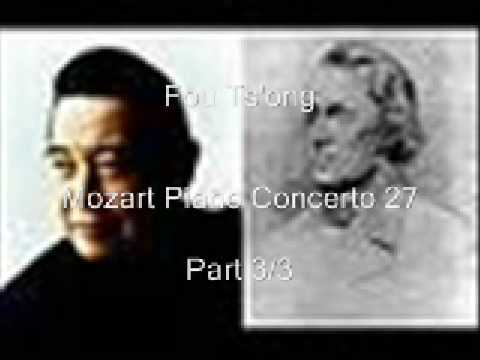 Fou Ts'ong/Mozart Piano Concerto 27 / Desarzens/Vienna State Opera Orchestra Pt 3/3