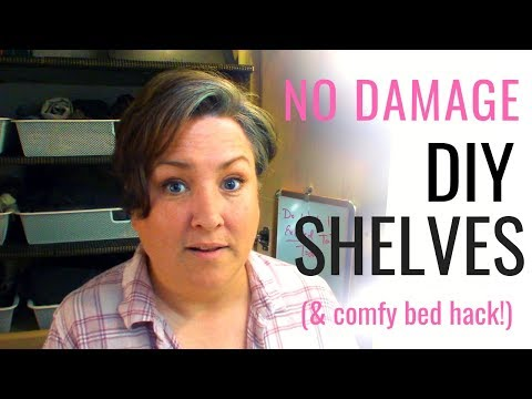 how-to-make-rv-shelves:-easy,-no-damage,-no-drilling!-bonus:-secret-to-a-comfy-rv-bed!