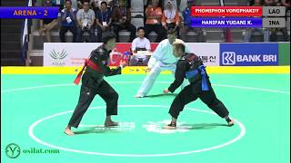 Download Video Pencak Silat Men's Tanding Class C : LAO vs INA | 18th Asian Games Indonesian 2018 MP3 3GP MP4