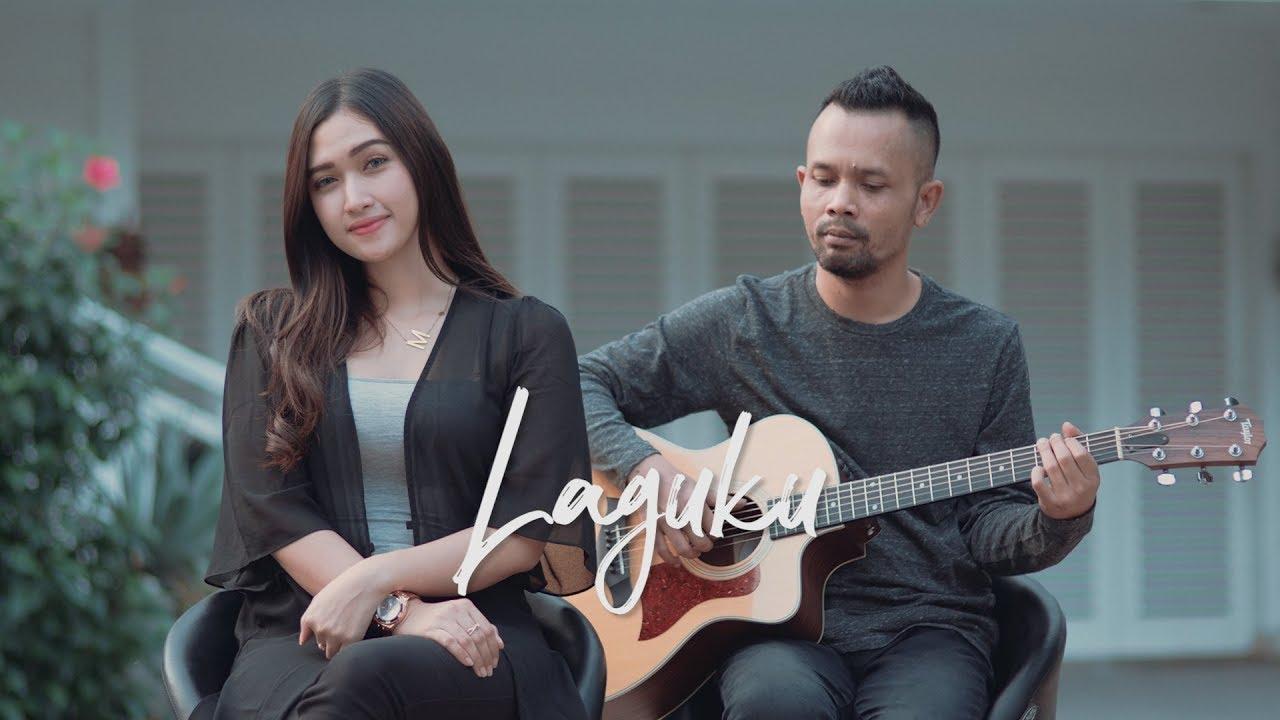 LAGUKU - UNGU ( Ipank Yuniar ft. Malika Atalie Cover & Lirik )