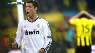 Cristiano Ronaldo vs Borussia Dortmund Away 12-13 HD 720p by Hristow