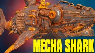 Depth - STEAM PUNK MECHA SHARK UNLOCKING, SO MANY NEW CREATURES - (Depth Gameplay)