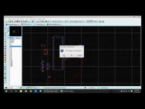 Printed Circuit Board PCB Designing Using Proteus 8 Professonal