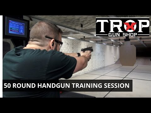 50 Round Handgun Training Session