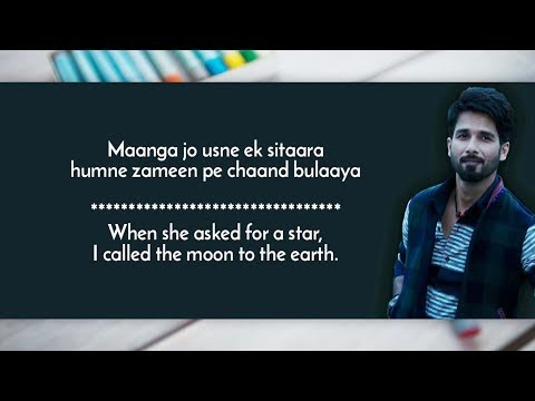 Dekhte Dekhte Lyrics with Translation | Atif Aslam | Sochta hoon Full Song with English Translation