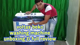 Unboxing amp review Voltas beko washing machine