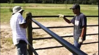 Ponderosa Fence Install