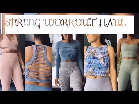 I spent a BAND! on Spring Gym clothes! Beyond Yoga and Alo | incredibly flawless