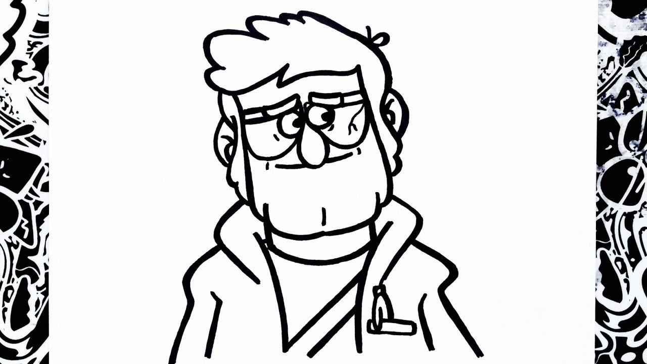 Mabel Y Pato Para Colorear: Dibujos De Gravity Falls Para Colorear Mabel