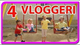 😱WOW !!! 4 Vloggeri pe un teren de joaca?😱