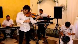 Самвел Айрапетян и Роман Адамян.  дуэт. скрипка и барабан.