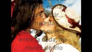 Me enamore de ti (letra/lyric)(Corazón Salvaje)