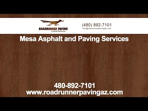Mesa Asphalt and Paving Services by Roadrunner