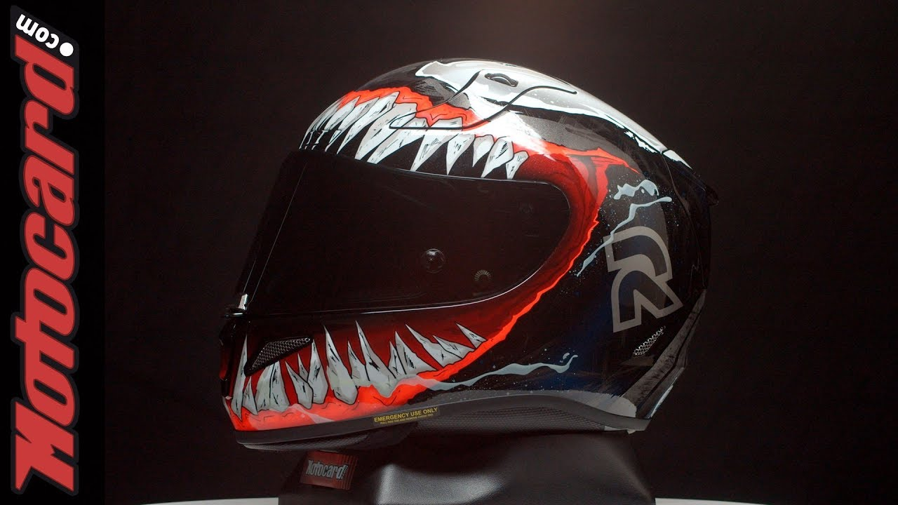 Unboxing Casque Moto Marvel Hjc Rpha 11 Venom Ii