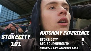 stoke city 0 1 afc bournemouth   matchday experience   stokecity101