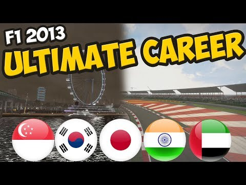 F1 ULTIMATE CAREER - ASIA? COMPLETED IT MATE