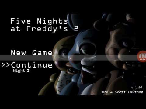 5 ночей с Фредди 2 на меня напала марионетка