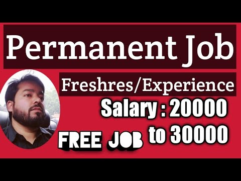 Permanent Job For Freshres Experience Boys In Mumbai Without Any Fees Can Apply