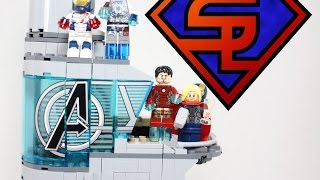 Avengers Age Of Ultron Lego Attack On Avengers Tower Marvel Superheroes Building Set Review