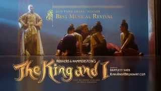 Watch the new THE KING AND I commercial.