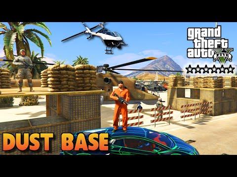 GTA 5 PC Mods - DUST BASE SIX STAR MILITARY RAID GAMEPLAY! (GTA 5 Mods)