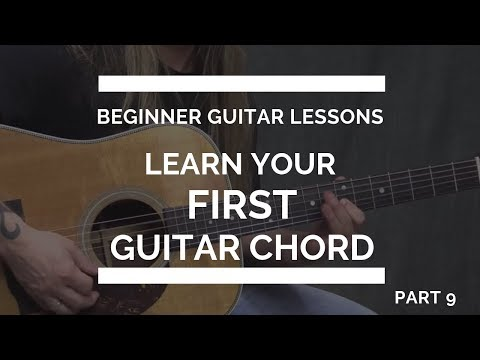 learn-your-first-guitar-chord---beginner-guitar-lesson-#9