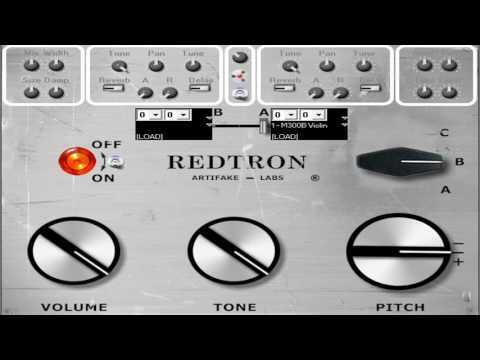 Download Free Mellotron M400S plug-in: Redtron SE by