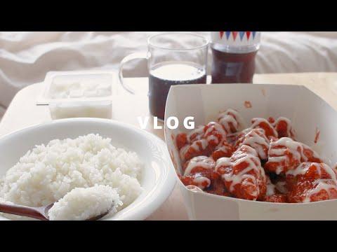 [vlog] 자취생 브이로그, 처음 먹어보는 음식들