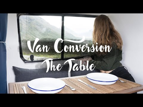 Van Conversion Table Build & Ideas
