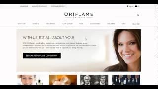 Урок 7 Регистрация международного номера на сайте Компании Орифлейм  Международное спонсирование