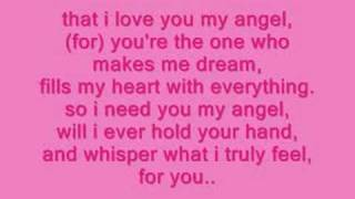 angel by tres with lyrics