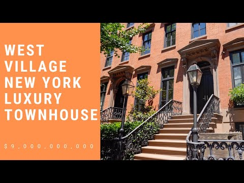 Take A Tour With Us West Village New York Townhouse Residence