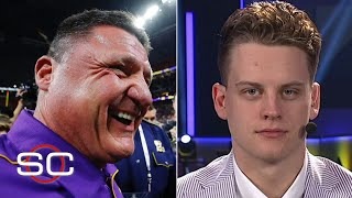 Joe Burrow reflects on LSU's undefeated season, tells funny Ed Orgeron story | SportsCenter.mp3