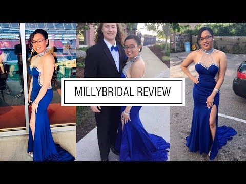 prom-dresses-|-long-mermaid-high-neck-chiffon-tulle-royal-blue-dress-with-slits---millybridal-review