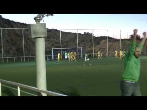 Gol de Fran contra Sporting Murcia