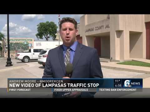 New video of Lampasas traffic stop